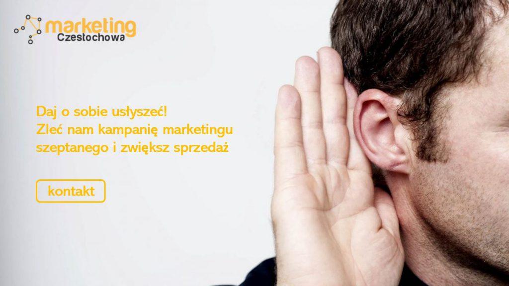 marketing szeptany Częstochowa