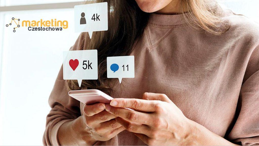 prowadzenie social media Częstochowa