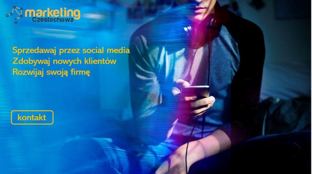 sprzedaż w social media Częstochowa