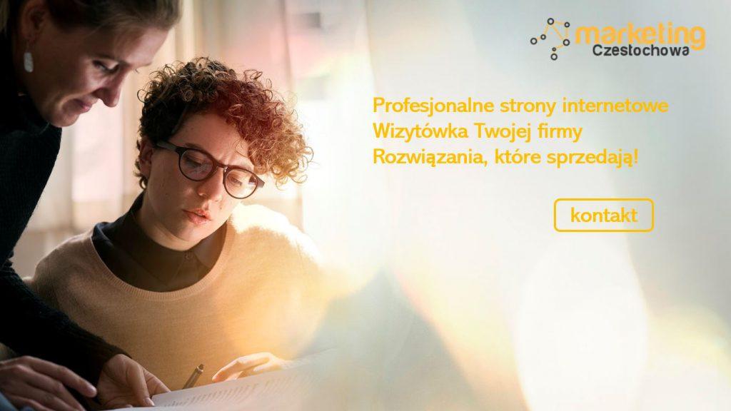 strony internetowe dla firm z Częstochowy